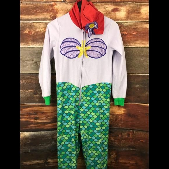 4588969ea75 Disney little mermaid Ariel 1 piece pajamas Womens